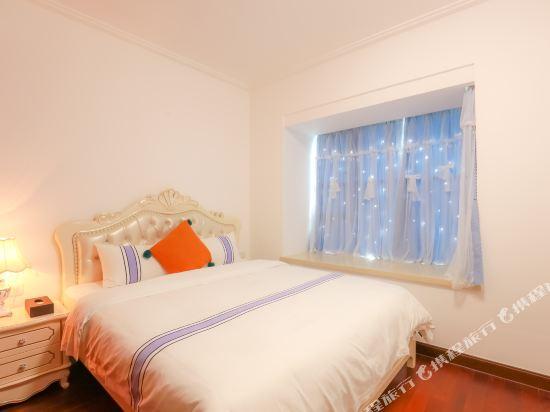 朵雅精品度假公寓(珠海橫琴口岸海洋王國店)(Duoya Boutique Holiday Apartment (Zhuhai Hengqin Port Ocean Kingdom))浪漫滿屋豪華大床房