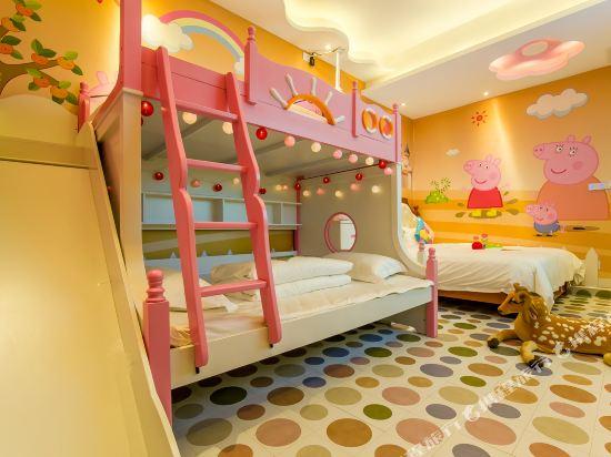鮮住精品主題酒店(廣州野生動物園店)(原大石地鐵站店)(Xianzhu Boutique Theme Hotel (Guangzhou Wildlife Zoo))小豬佩奇滑梯三床房