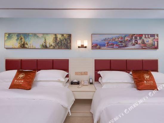 維也納斯酒店·精選(廣州新白雲國際機場店)(Wei Ye Na Si & Hotel (Guangzhou New Baiyun International Airport))尊享雙床房