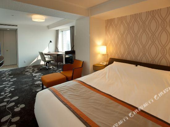 格蘭比亞大酒店(Hotel Granvia Osaka)豪華大床房