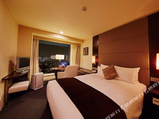 品川王子大飯店(Shinagawa Prince Hotel)主塔樓大床房