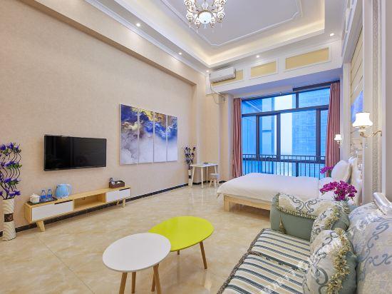 維多利亞公寓(廣州奧園廣場店)(Victoria Apartment (Guangzhou Aoyuan Plaza))商務大床房