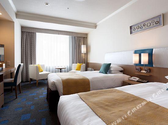 東京東急澀谷卓越大飯店(Shibuya Excel Hotel Tokyu Tokyo)城景高級雙床房