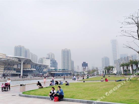 富米國際公寓(珠海華髮商都店)(Fumi Apartment Hotel (Zhuhai Huafa Mall))眺望遠景