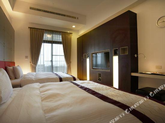 台北大師商旅(Master Hotel)標準4人房