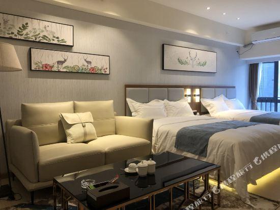 佛山雲谷酒店式公寓雲暉行政雙床房