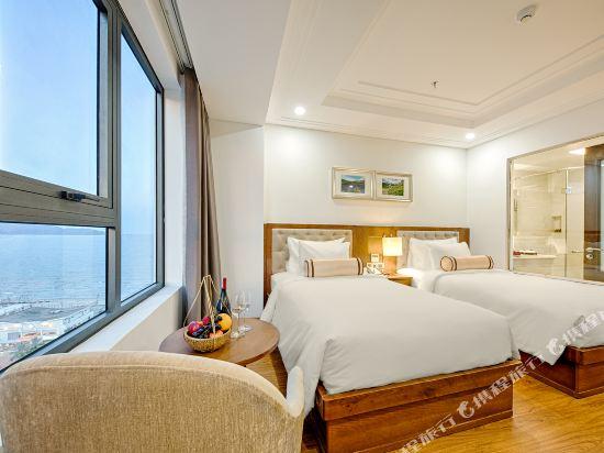 峴港海灘巴利斯德利酒店(Paris Deli Danang Beach Hotel)豪華景觀雙床房