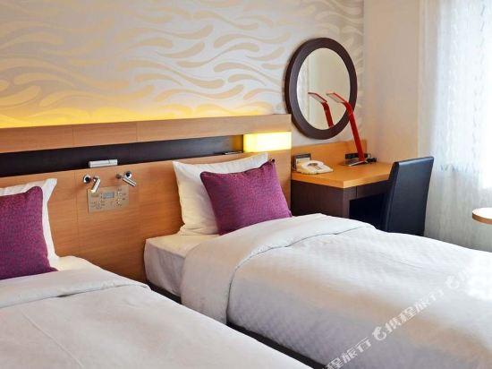 大都會東京城飯店(Hotel Metropolitan Edmont Tokyo)東翼樓小型雙人間