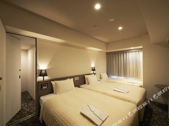 東京相鐵弗雷薩旅店銀座七丁目酒店(Sotetsu Fresa Inn Ginza-Nanachome)連通雙床房
