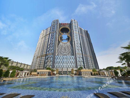 澳門新濠影匯酒店(Studio City Hotel)明星經典路氹景觀雙床房