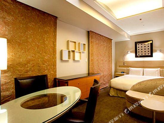 東京汐留皇家花園酒店(The Royal Park Hotel Tokyo Shiodome)摩登雙人床房(標準樓層)
