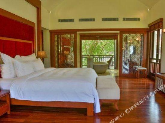 峴港富麗華別墅酒店(Furama Villas Danang)四卧室海洋別墅