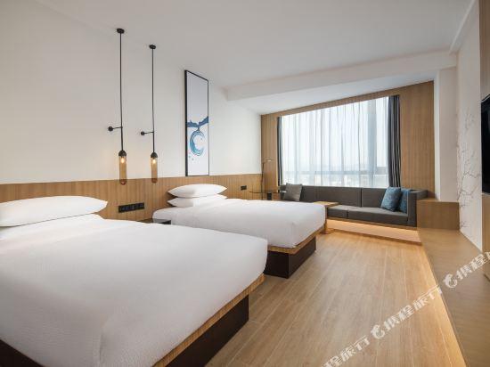東莞星匯廣場萬楓酒店(Fairfield by Marriott Dongguan Changping)豪華雙床房