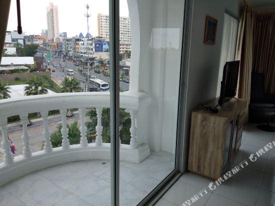 中國城財神大酒店(Chinatown God of Wealth Hostel)高級大床房