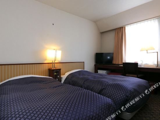 銀座首都酒店本館(Ginza Capital Hotel Main)兩間相鄰的雙床房