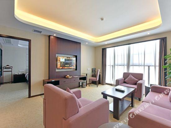 薩維爾金爵·鹿安酒店(上海國際旅遊度假區浦東機場店)(Savile Knight Lu'an Hotel (Shanghai International Tourism and Resorts Zone Pudong Airport))豪華商務套房