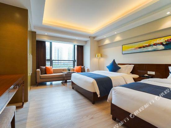 珠海伯瑞灣濱江酒店公寓(Bo Rui Wan Binjiang Condo Hotel)豪華河景雙床房