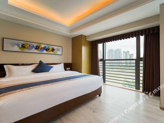 珠海伯瑞灣濱江酒店公寓(Bo Rui Wan Binjiang Condo Hotel)豪華河景套房