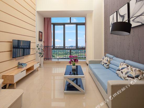 維多利亞公寓(廣州奧園廣場店)(Victoria Apartment (Guangzhou Aoyuan Plaza))複式大床房