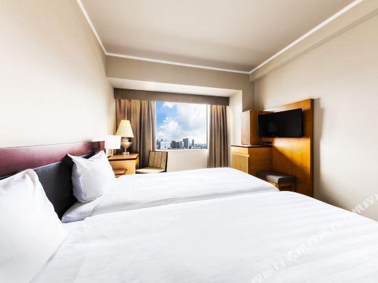 大阪阪神酒店(Hotel Hanshin Osaka)好萊塢雙床房