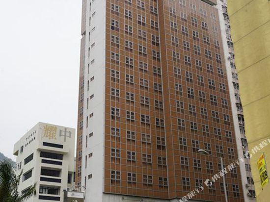 香港港灣酒店(Hong Kong Harbor Hotel)外觀