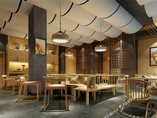 港潤寓上江灣公寓(廣州沿江天字碼頭店)(原江灣大酒店)(Gangrun Yushang Jiangwan Apartment (Guangzhou Yanjiang Tianzi Wharf))餐廳