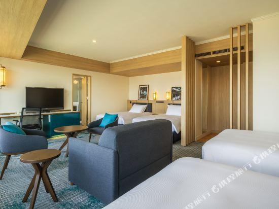 福岡海鷹希爾頓酒店(Hilton Fukuoka Sea Hawk)甄選豪華家庭房