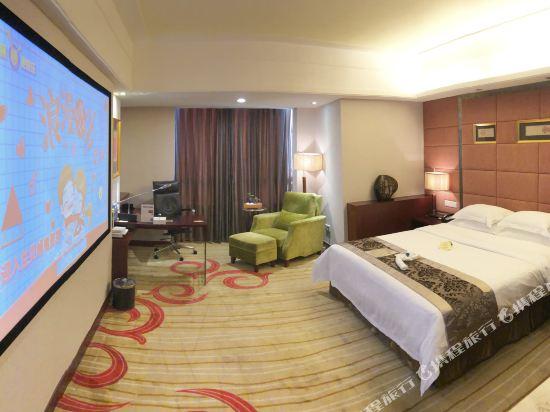 百盛達酒店(佛山千燈湖公園店)(Pasonda Hotel (Foshan Qiandeng Lake Park))3D巨幕影音大床房