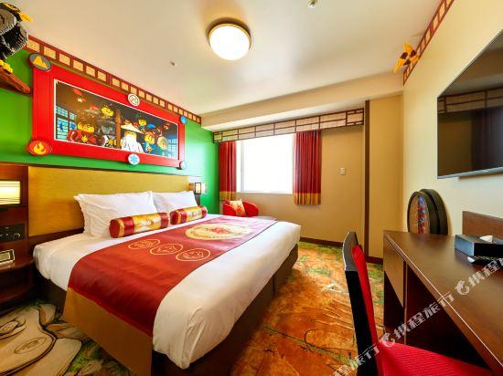 日本樂高樂園酒店(Legoland Japan Hotel)升級版景觀忍者主題甄選房