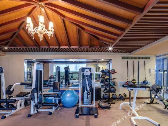 深圳999丹楓白露酒店(999 Royal Suites & TowersShenzhen)健身房