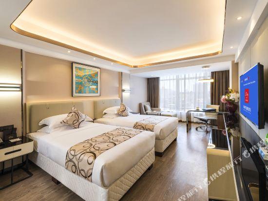 珠海香江維克酒店(Zhuhai Hongkong Victory Hotel)豪華雙床房
