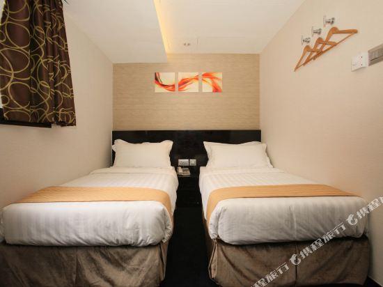 香港逸林酒店(Noblepark Hotel Hong Kong)高級雙床房