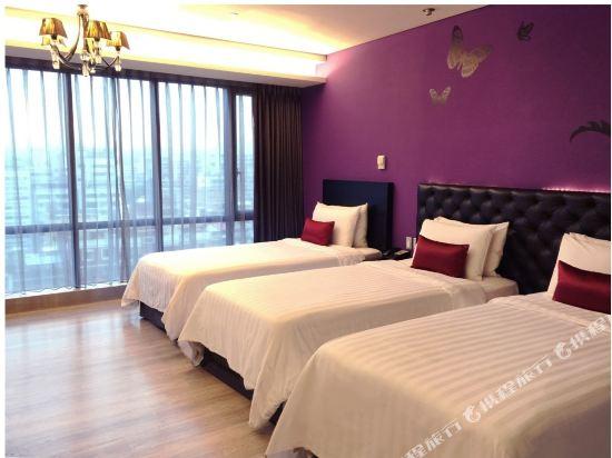 富驛時尚酒店-台北南京東路館(FX Hotel (Taipei Nanjing East Road))豪華三人房