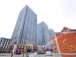 優居自助湖景酒店(武漢漢街萬達店)