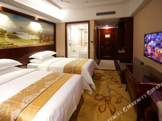 維也納國際酒店(上海浦東機場自貿區店)(Vienna International Hotel (Shanghai Pudong Airport Free Trade Zone))豪華雙床房