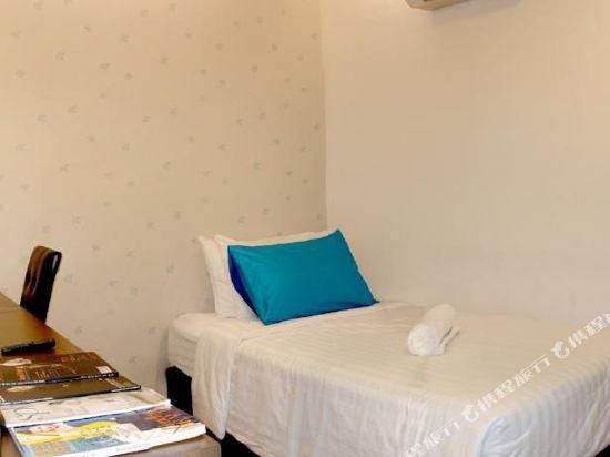 曼谷是隆楠特拉酒店(Nantra Silom Hotel Bangkok)經濟單人房