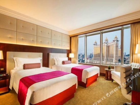 澳門百老匯酒店(Broadway Macau)百老匯河畔景雙床房