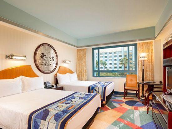 迪士尼好萊塢酒店(Disney's Hollywood Hotel)迪士尼連通家庭房