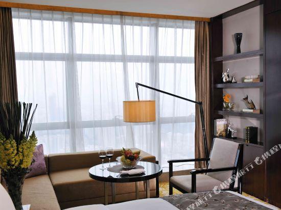 深圳皇庭V國際公寓(原皇庭禮尚公寓)(Wongtee V International Apartment)雅緻商務房