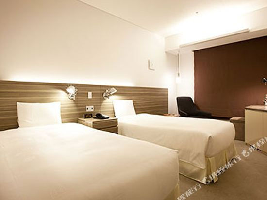 東京汐留皇家花園酒店(The Royal Park Hotel Tokyo Shiodome)標準雙床房-Yamagiwa設計(概念樓層)