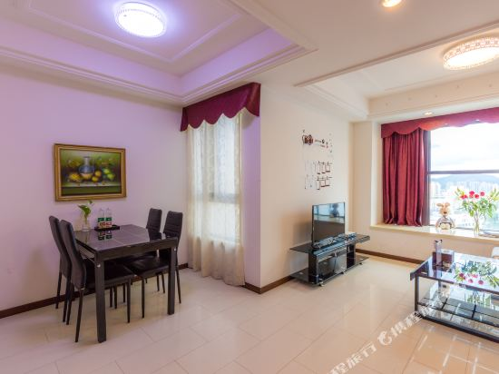 富米國際公寓(珠海華髮商都店)(Fumi Apartment Hotel (Zhuhai Huafa Mall))富里複式大床套房