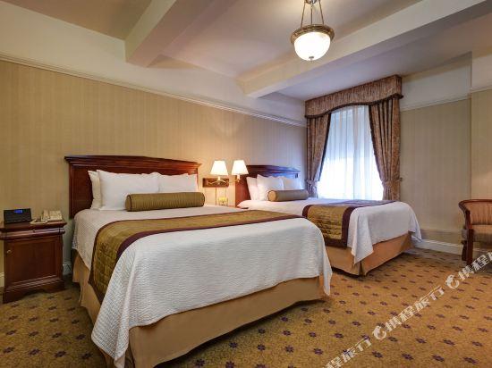 惠靈頓酒店(Wellington Hotel)豪華兩張大床房