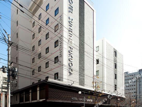 福岡博多站前陽光酒店(Hotel Sunline Fukuoka Hakata Ekimae)外觀