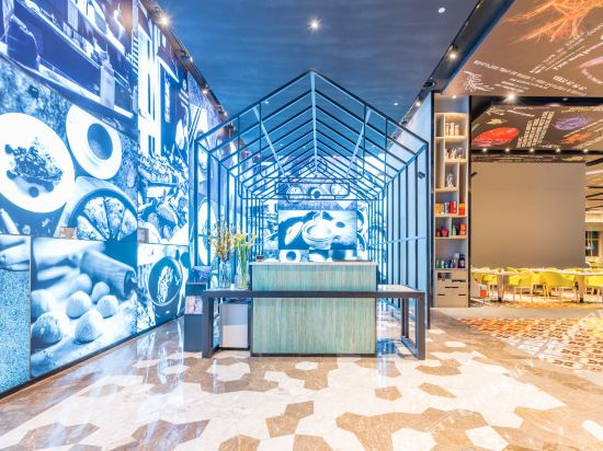 上海智微世紀麗呈酒店(REZEN HOTEL SHANGHAI ZHIWEI CENTURY)餐廳