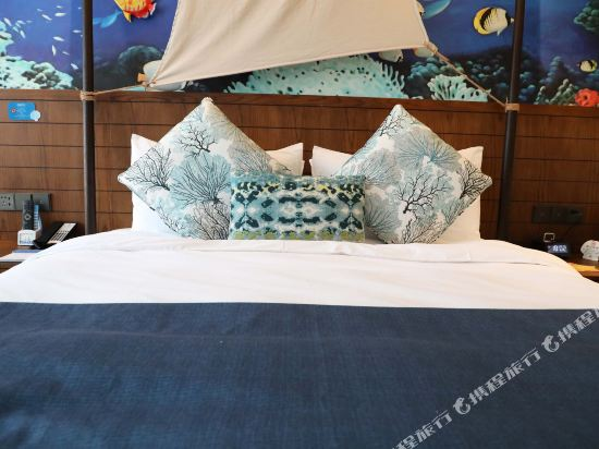 常州環球港郵輪酒店(Global Harbor Cruise Hotel)珊瑚海大床房