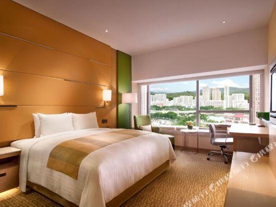 香港沙田萬怡酒店(Courtyard by Marriott Hong Kong Sha Tin)標準房-帶加床
