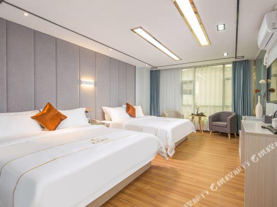廣州威尼斯特酒店(Wei Ni Si Te Hotel)臻享舒眠雙床房