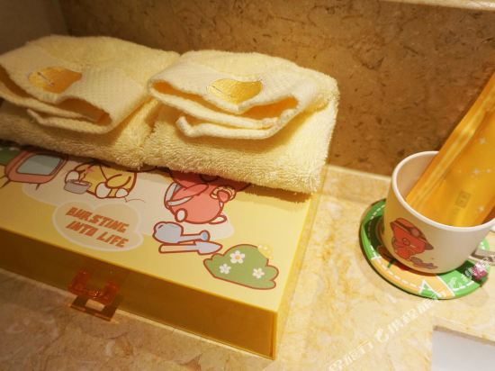 溧陽天目湖御水温泉度假酒店(Yu Shui Hot Spring Hotel)小雞彩虹酷芽親子大床房