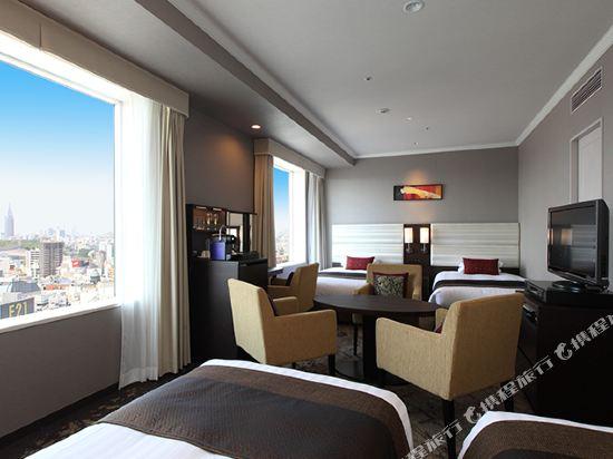 東京東急澀谷卓越大飯店(Shibuya Excel Hotel Tokyu Tokyo)卓越豪華四人房
