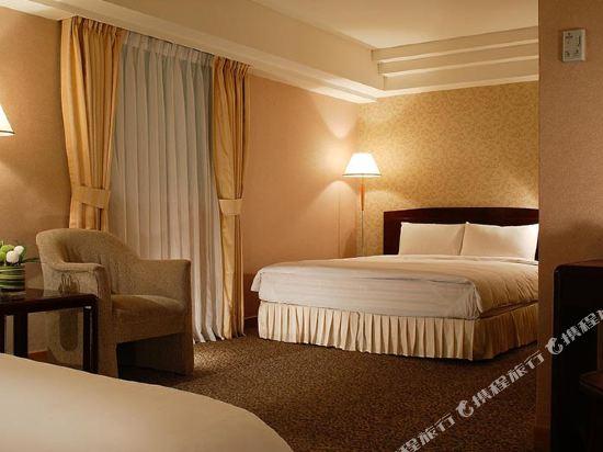 台北神旺大飯店(San Want Hotel)豪華大床房
